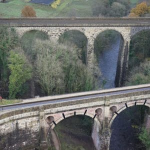 aerial survey aquaduct