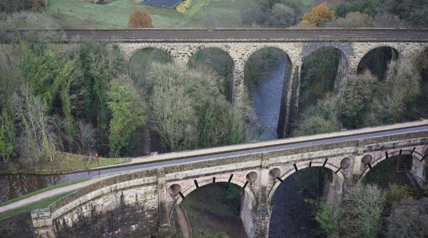 aerial survey aquaduct