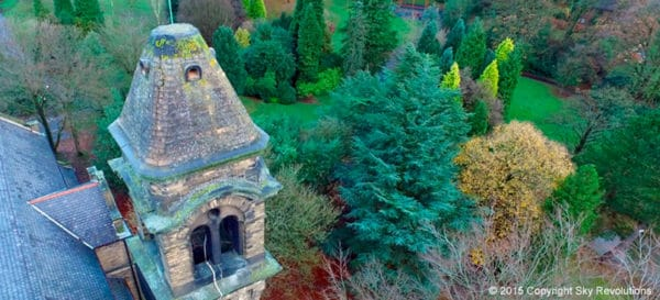 drone survey north london tower