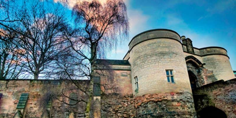 nottingham castle aerial drone survey