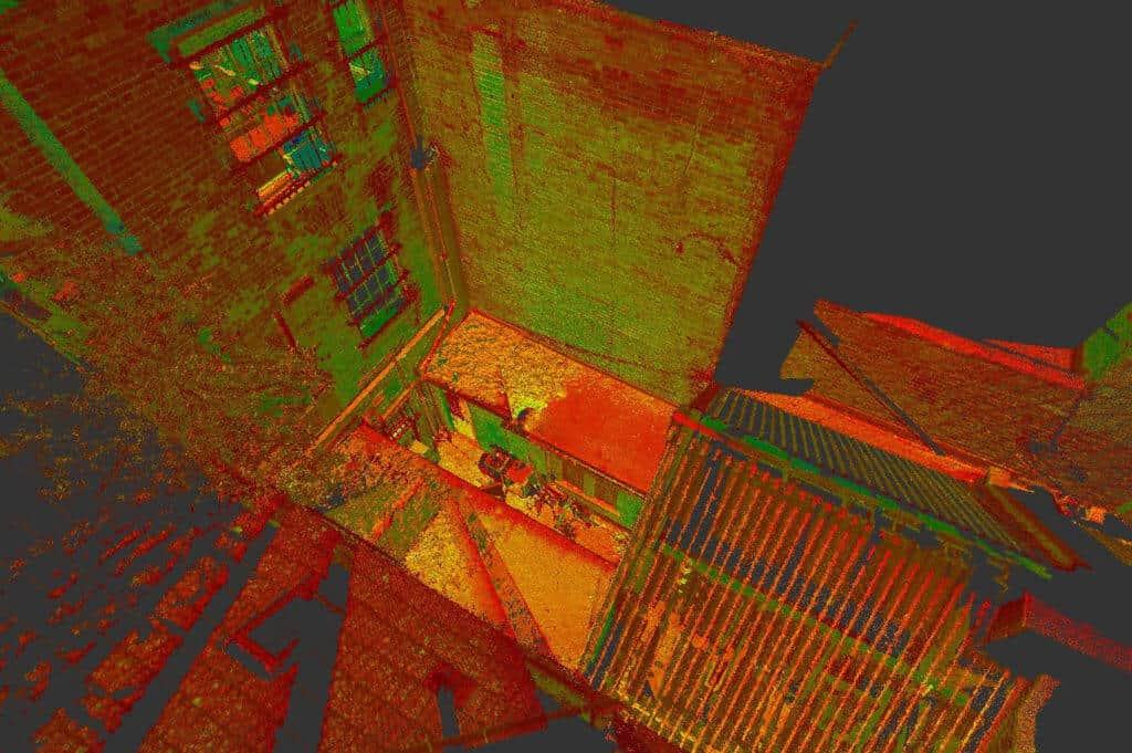 3D models using LiDAR sensors