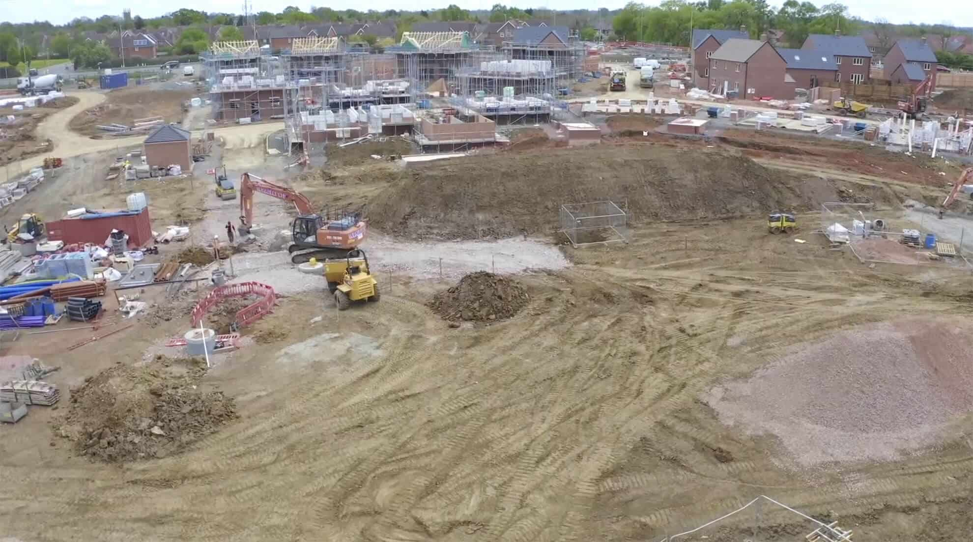 time lapse construction site