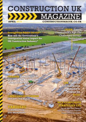 Construction UK Magazine Front Cover
